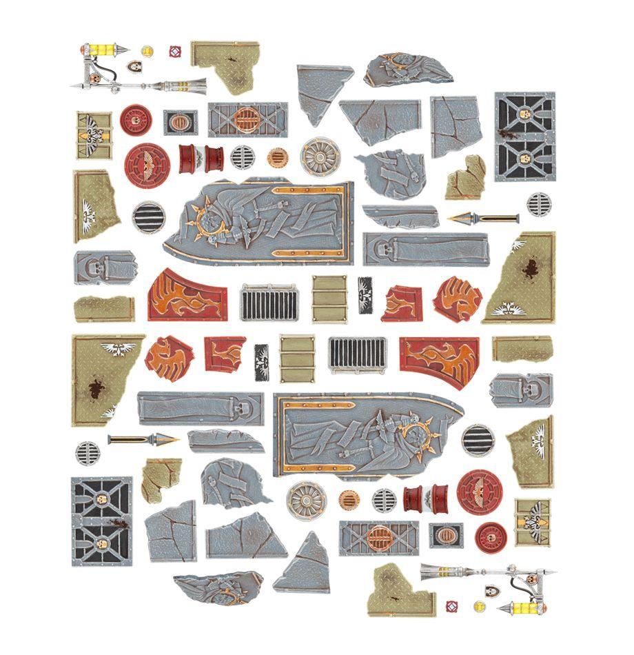 Sector Imperialis Large Base Kit