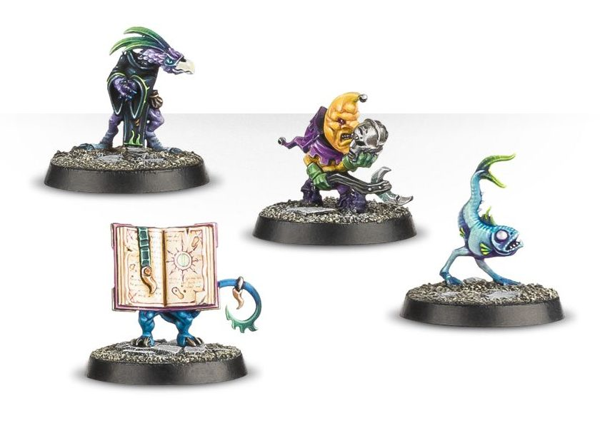 Chaos Familiars - Warhammer Quest Silver Tower