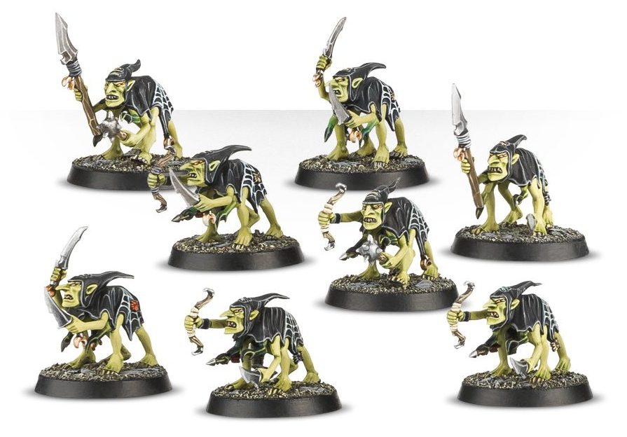 Grot Scuttlings - Warhammer Quest Silver Tower