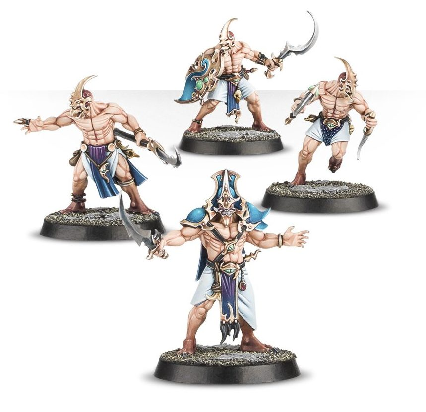Kairic Acolytes - Warhammer Quest Silver Tower