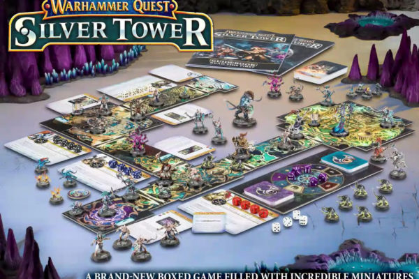 Warhammer Quest: Silver Tower Boxed Game