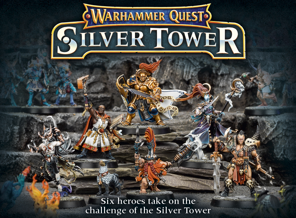 Warhammer Quest: Silver Tower - Heroes