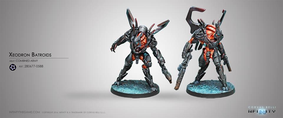 Xeodron Batroids - Infinity