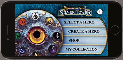 Warhammer Quest: Silver Tower My Hero Companion App