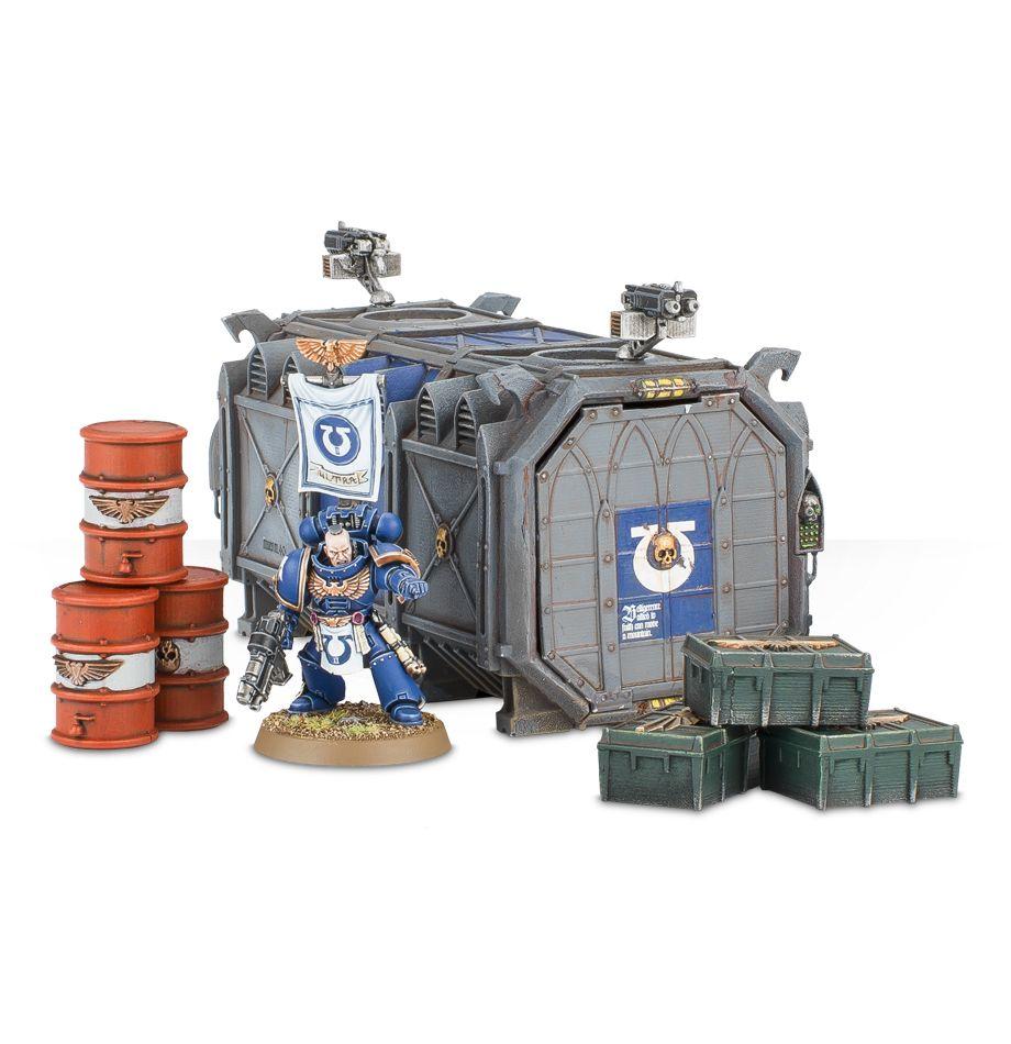 Munitorum Armoured Containers - Scale Comparison