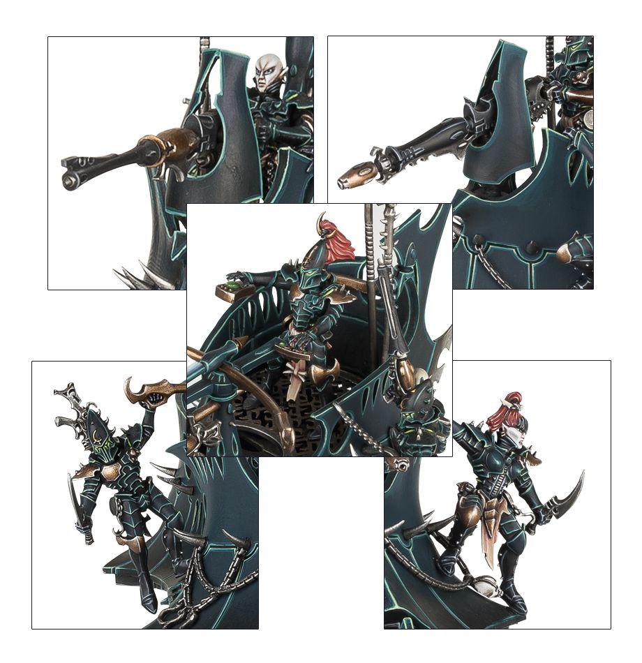 Dark Eldar Raider Details