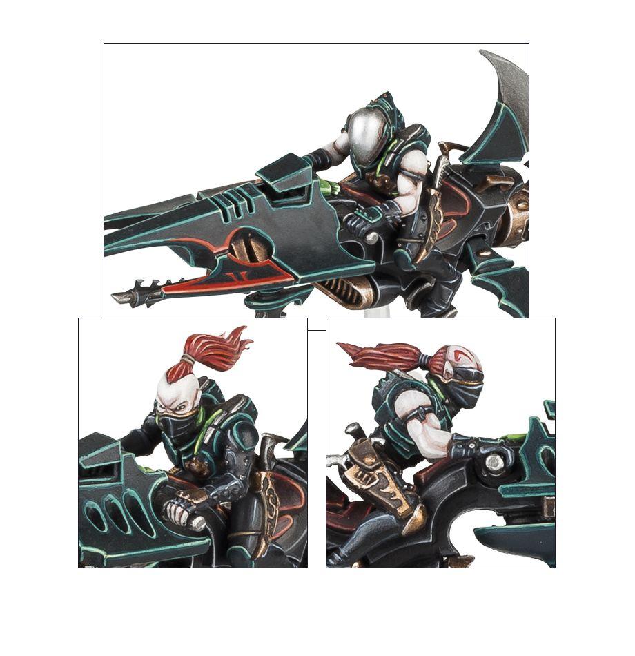 Dark Eldar Reaver Jetbikes Details