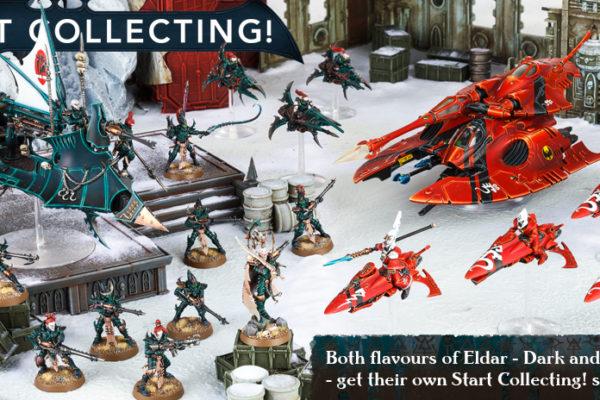 Start Collecting Dark Eldar and Eldar
