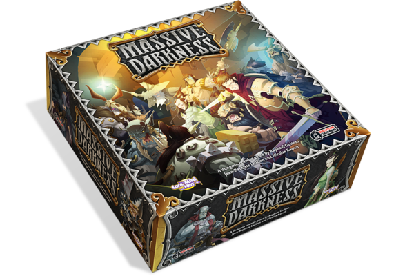 Massive Darkness Game Box