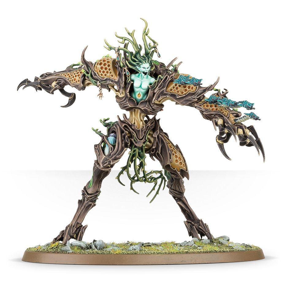 Drycha Hamadreth with Squirmlings