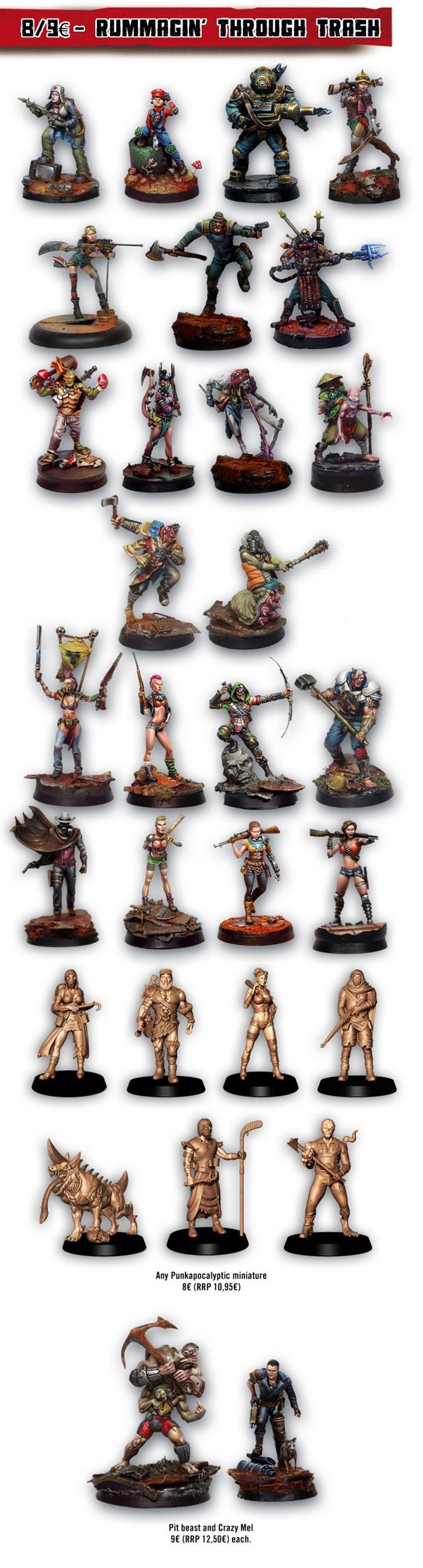 Punkapocalyptic Miniatures Range