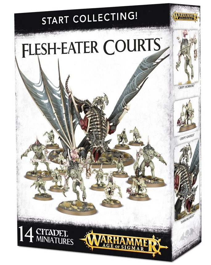 Start Collecting! Flesh-eater Courts Box Set