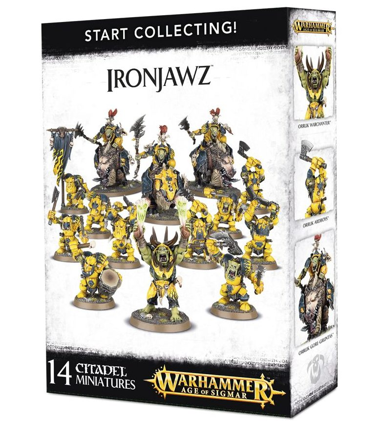 Start Collecting! Ironjawz Box Set