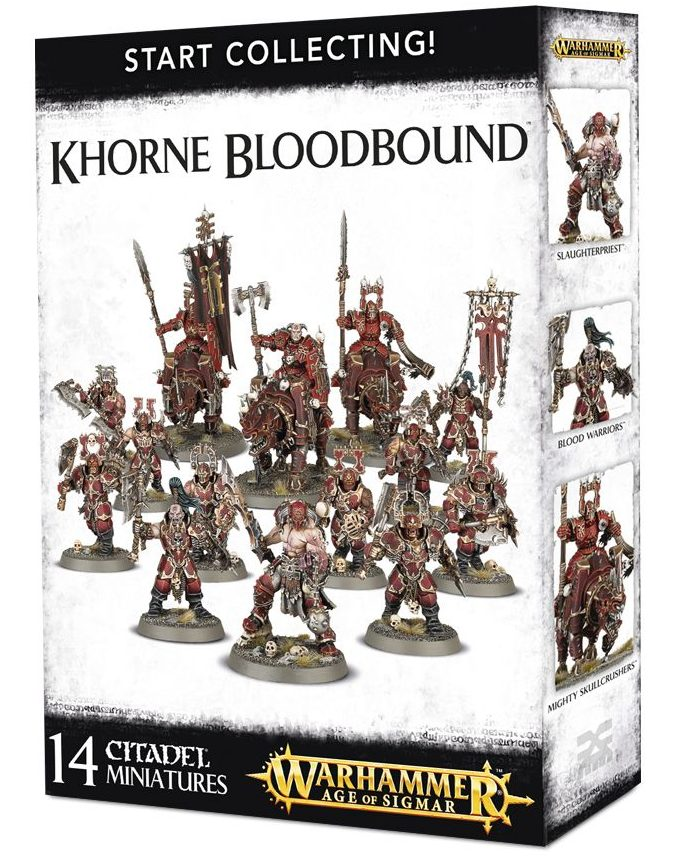 Start Collecting! Khorne Bloodbound Box Set