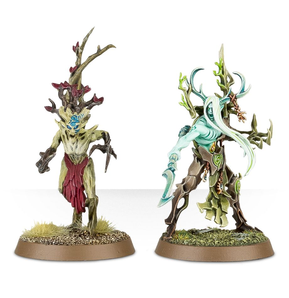 Tree-Revenants Size Comparison with a Dryad