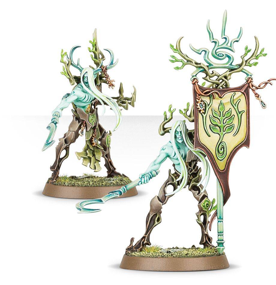 Tree-Revenant with Banner