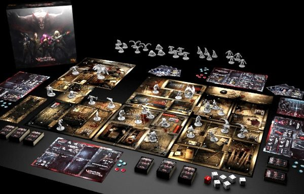 Vampire Hunters The Board Game