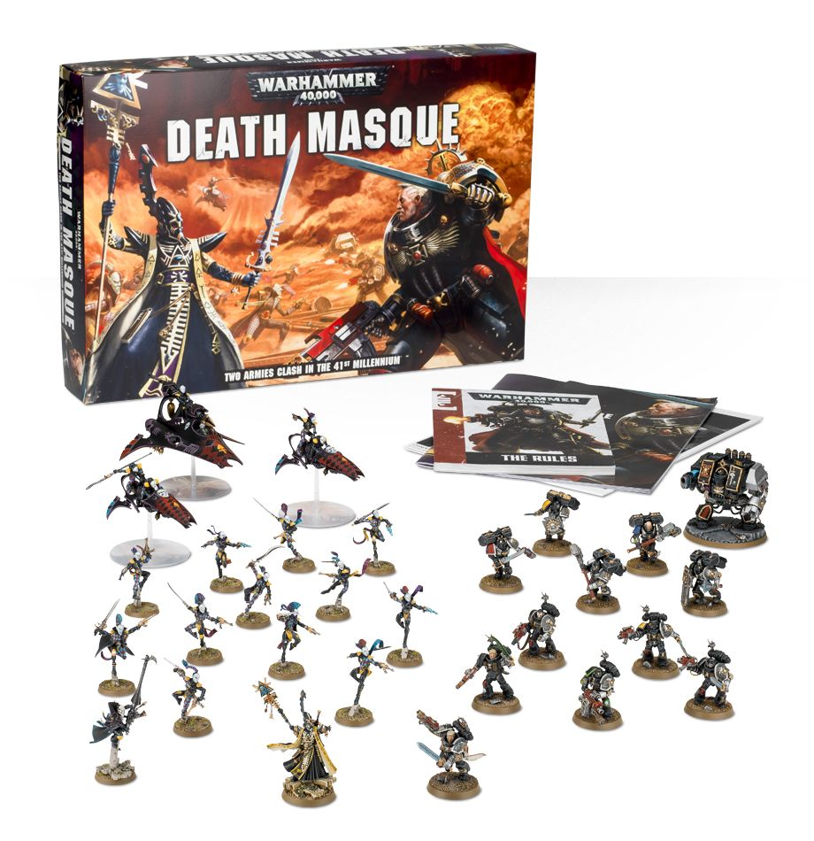 Death Masque Boxed Game