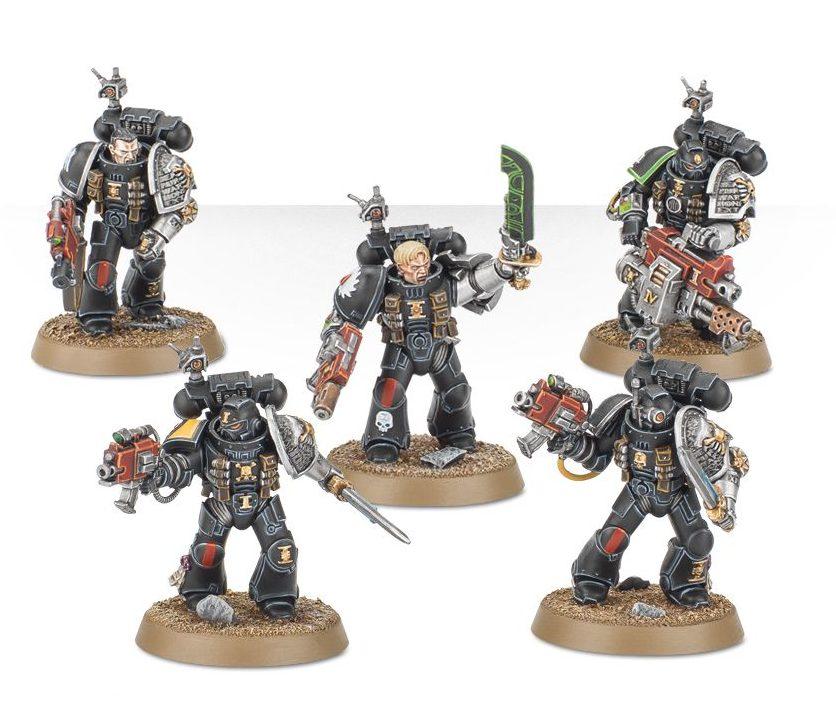Deathwatch Veterans - Death Masque