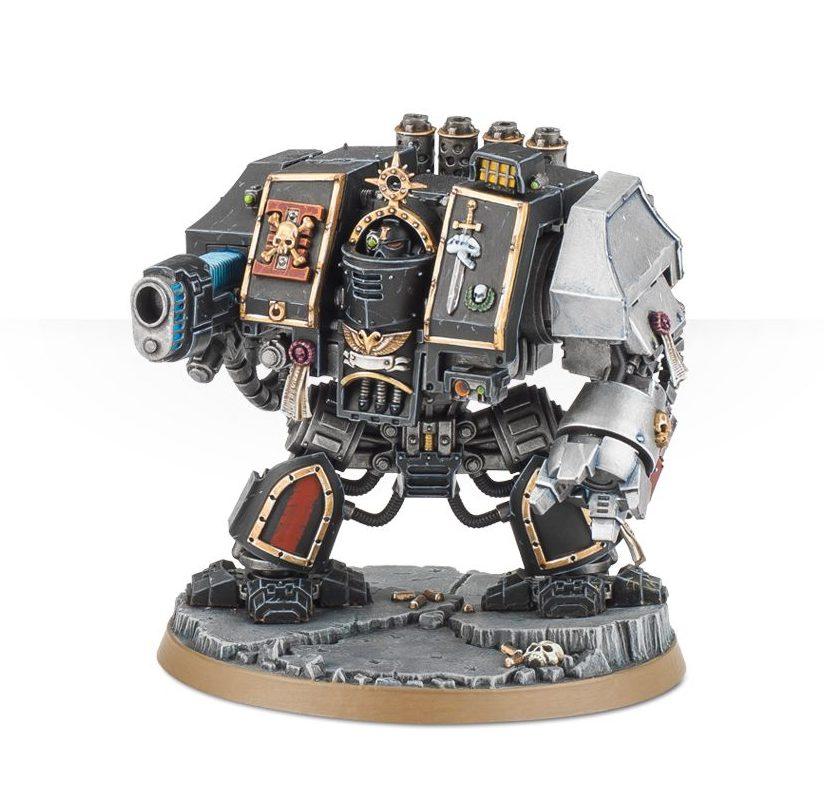 Deathwatch Venerable Dreadnought - Death Masque