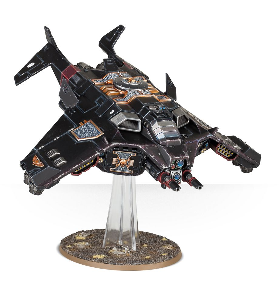 Corvus Blackstar with Twin Linked Lascannons