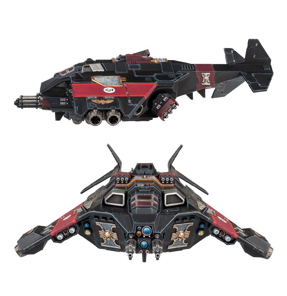 Corvus Blackstar Side and Front View