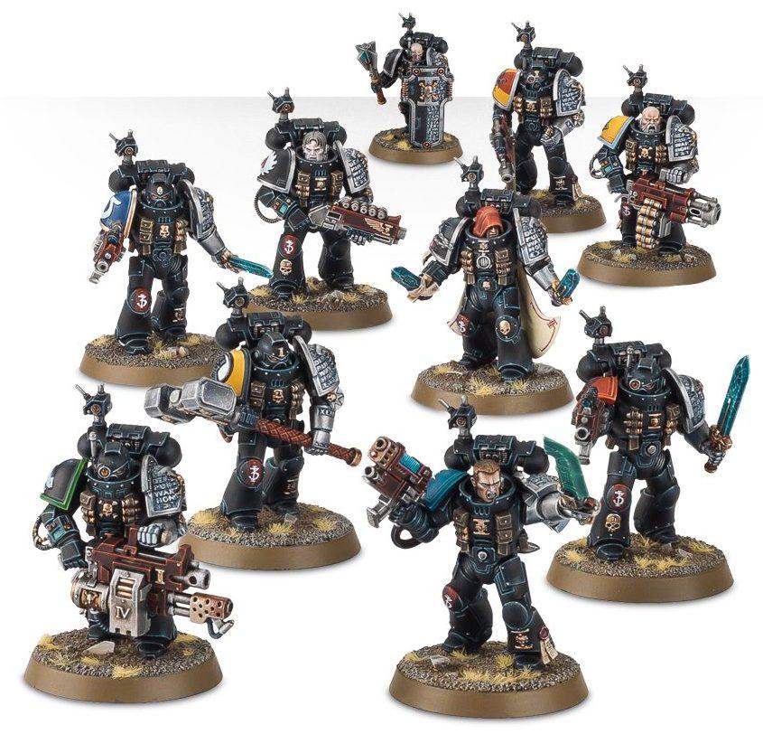 Deathwatch 10 Man Kill Team