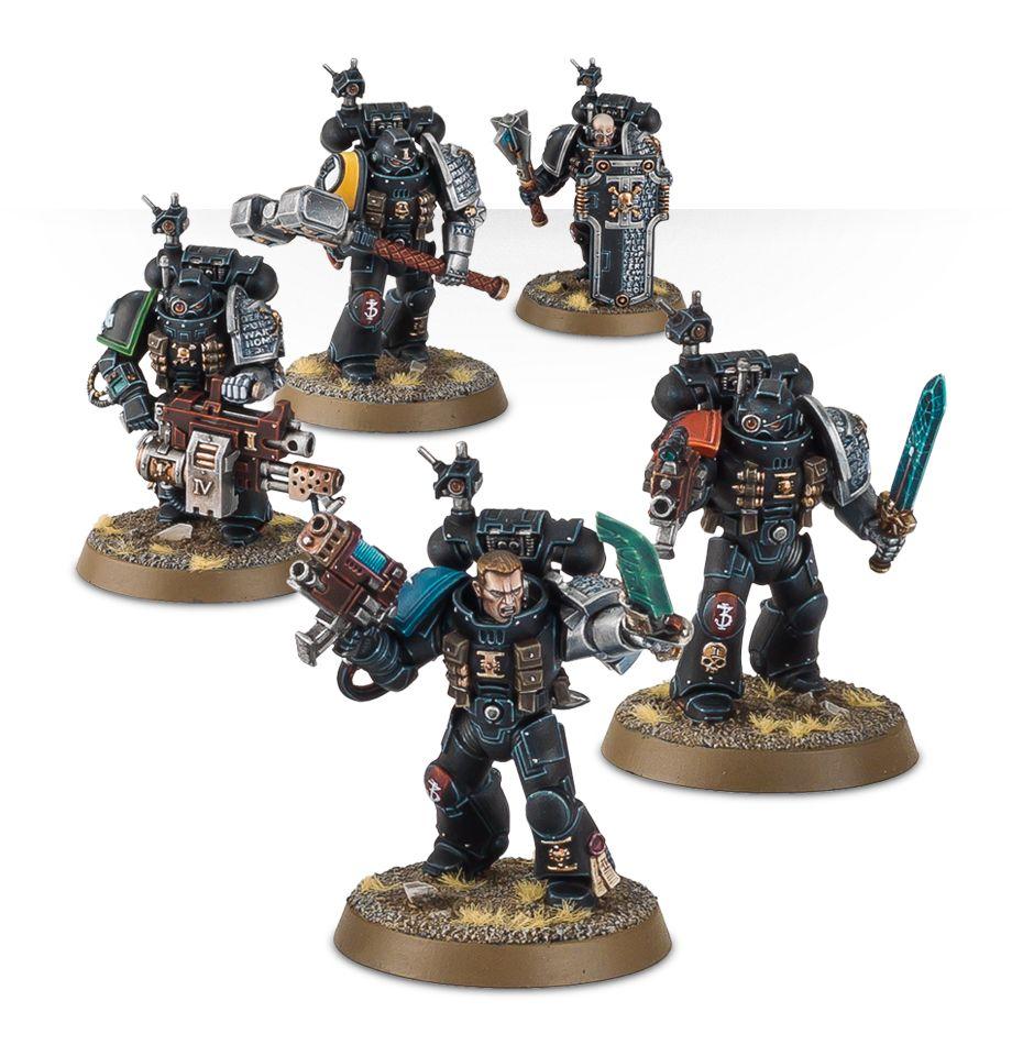 Deathwatch Kill Team Bundle Closer Look