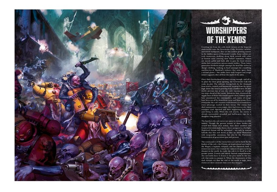 Genestealer Cults Codex Excerpt