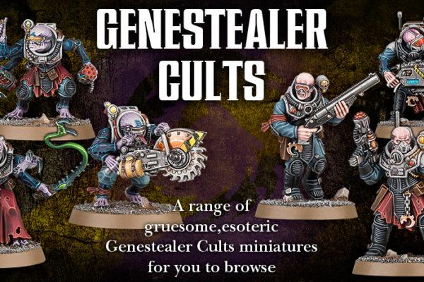 Genestealer Cults Banner