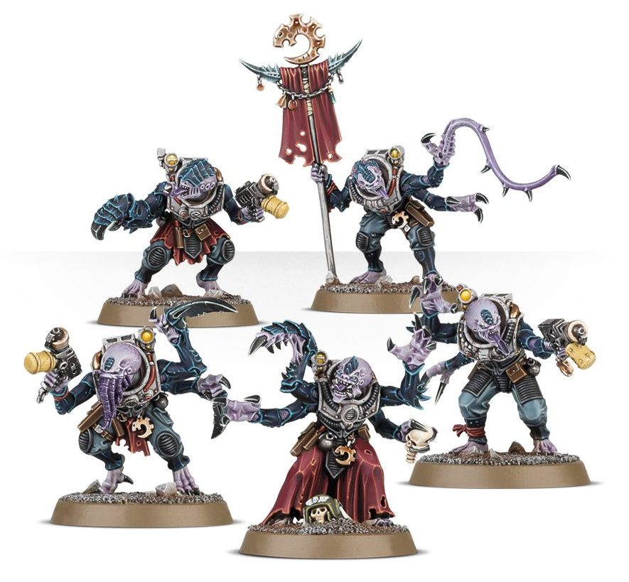 Hybrid Metamorphs - Genestealer Cults
