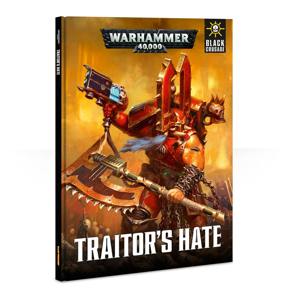 Black Crusade: Traitor's Hate Supplement