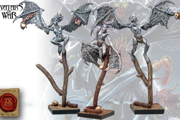 Dread Harpies - Painted