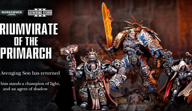 Triumvirate Of The Primarch Banner