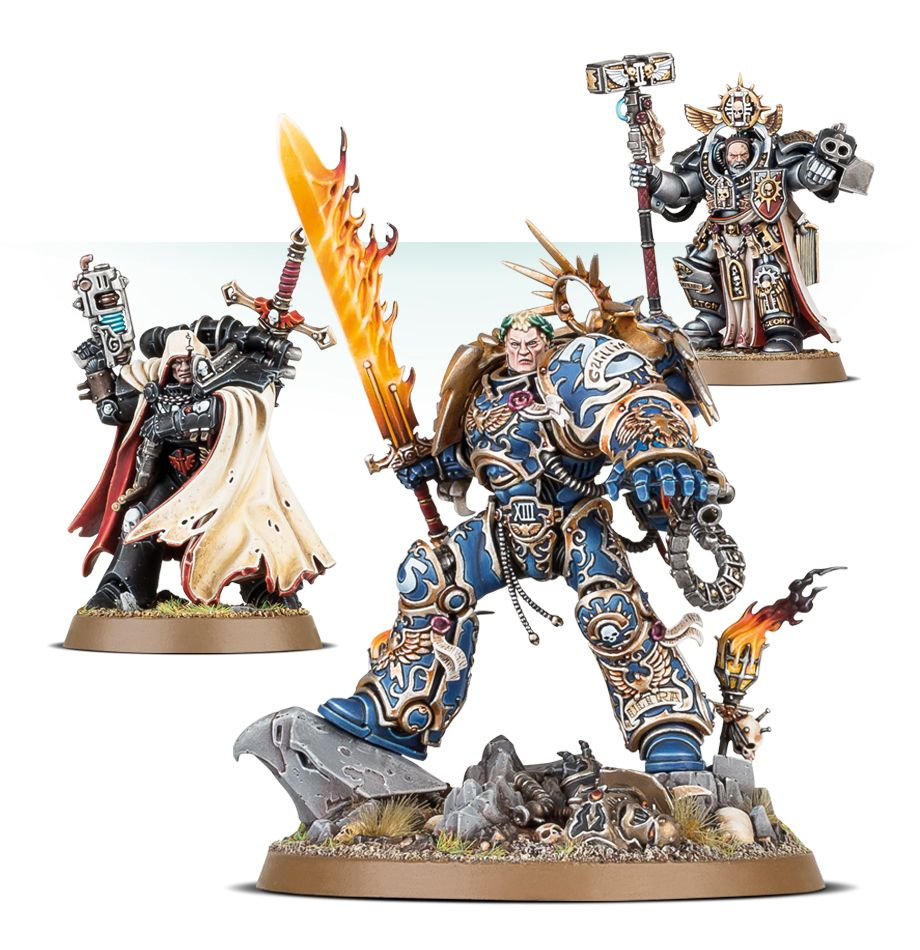 First Look at Guilliman, Cypher and Grand Master Voldus