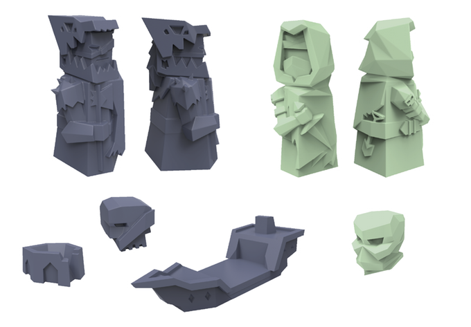 Dragoon Expansion sculpts
