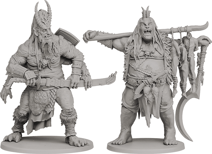 Oni of Skulls and Oni of Souls - Rising Sun