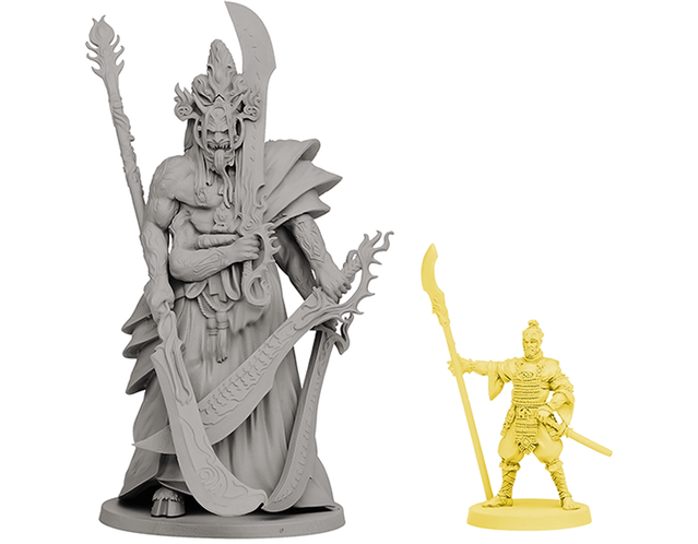 The Oni of Plagues scale comparison - Rising Sun