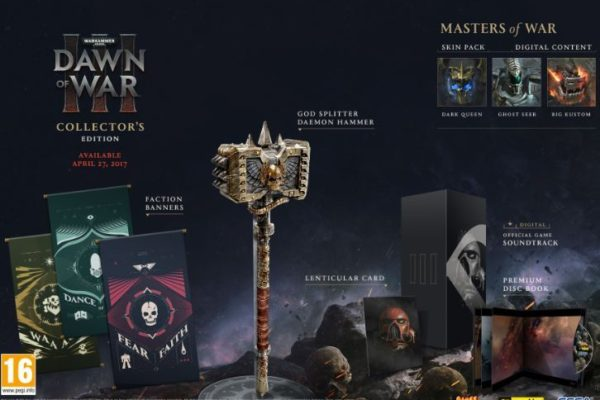 Dawn of War 3 Collectors Edition