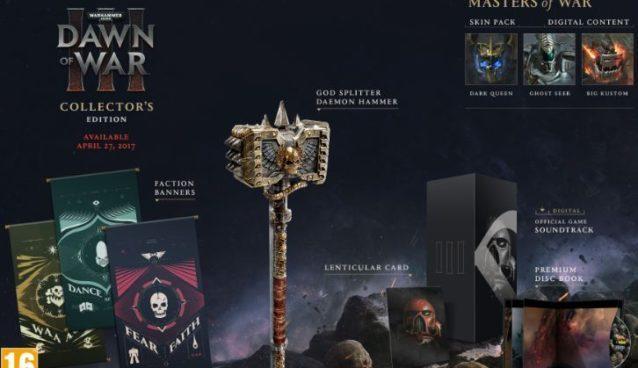 Dawn of War 3 Collectors Edition