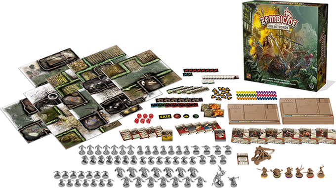 Game Contents Zombicide: Green Horde