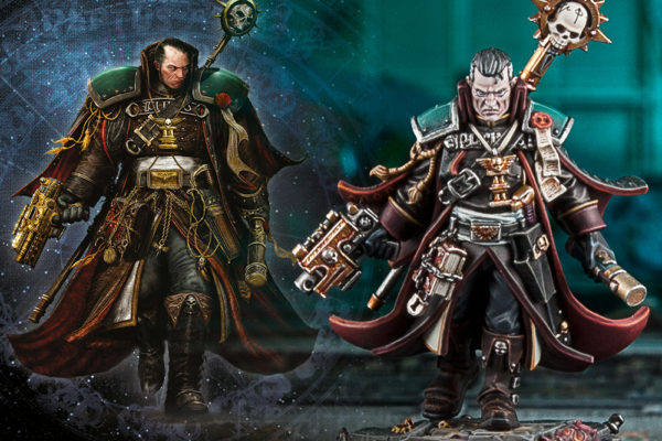 Eisenhorn Art and Miniature