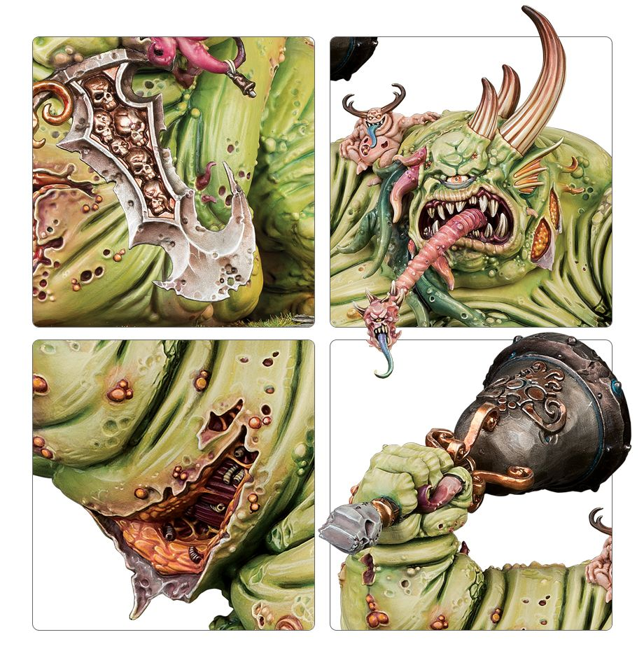Great Unclean One with Doomsday bell Details