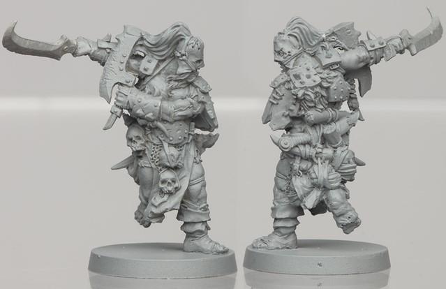 Um'Gra Warrior resin figure 2