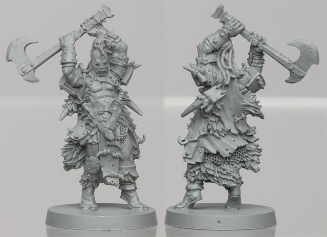 Um'Gra Warrior resin figure