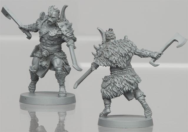 Um'Tull Warrior resin figure 2