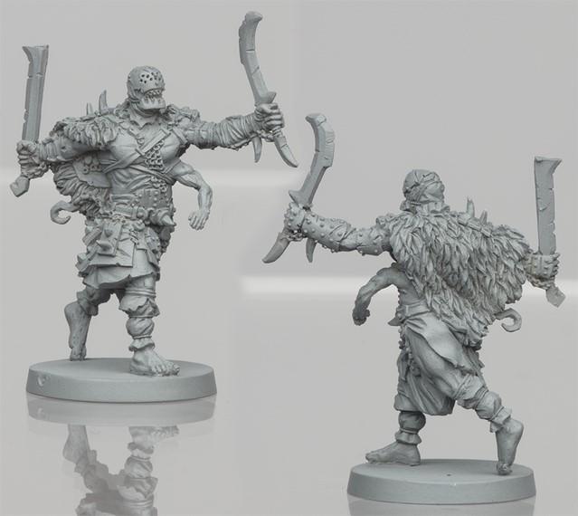 Um'Tull Warrior resin figure 3