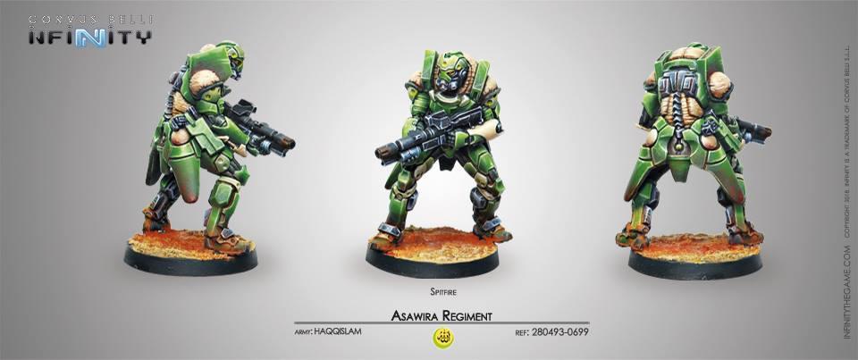 Asawira Regiment spitfire