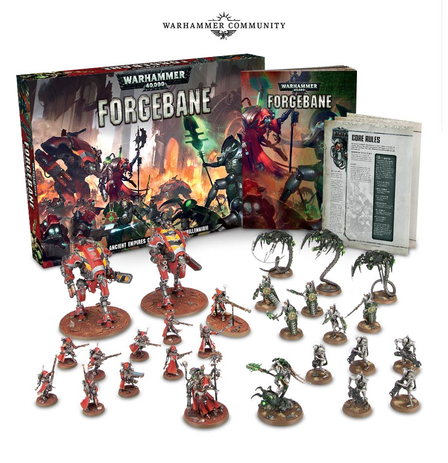 40k Forgebane Contents