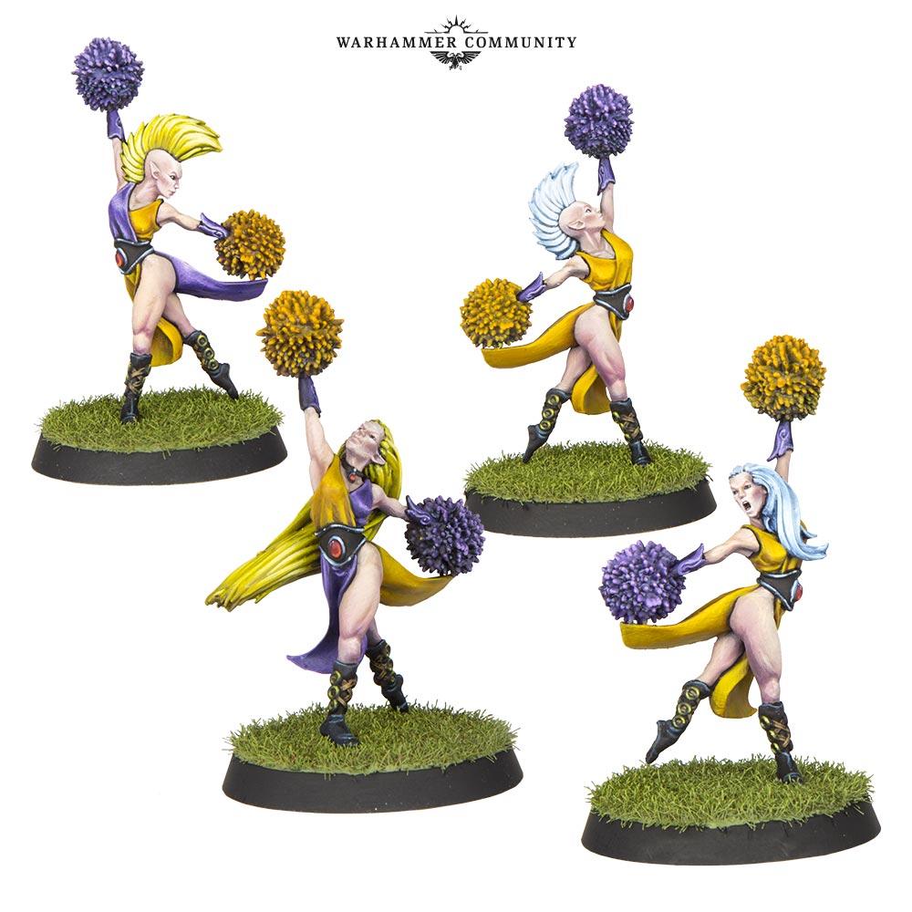 Elven Union Cheerleaders